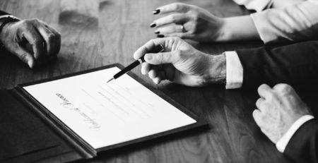 prenup agreement signing for blog post