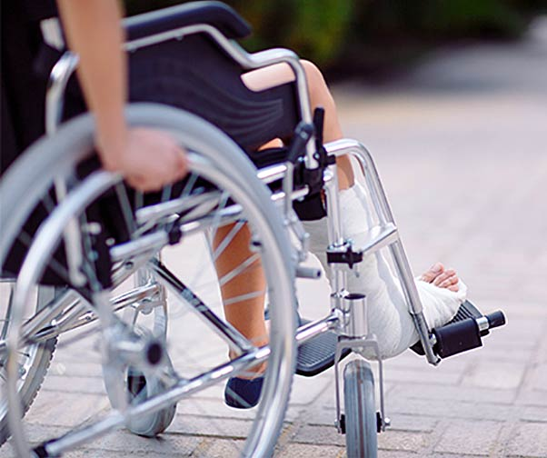 wheelchair injury for fatal injury