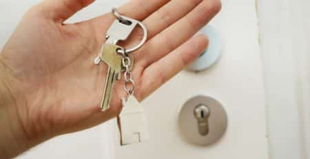 keys to first home
